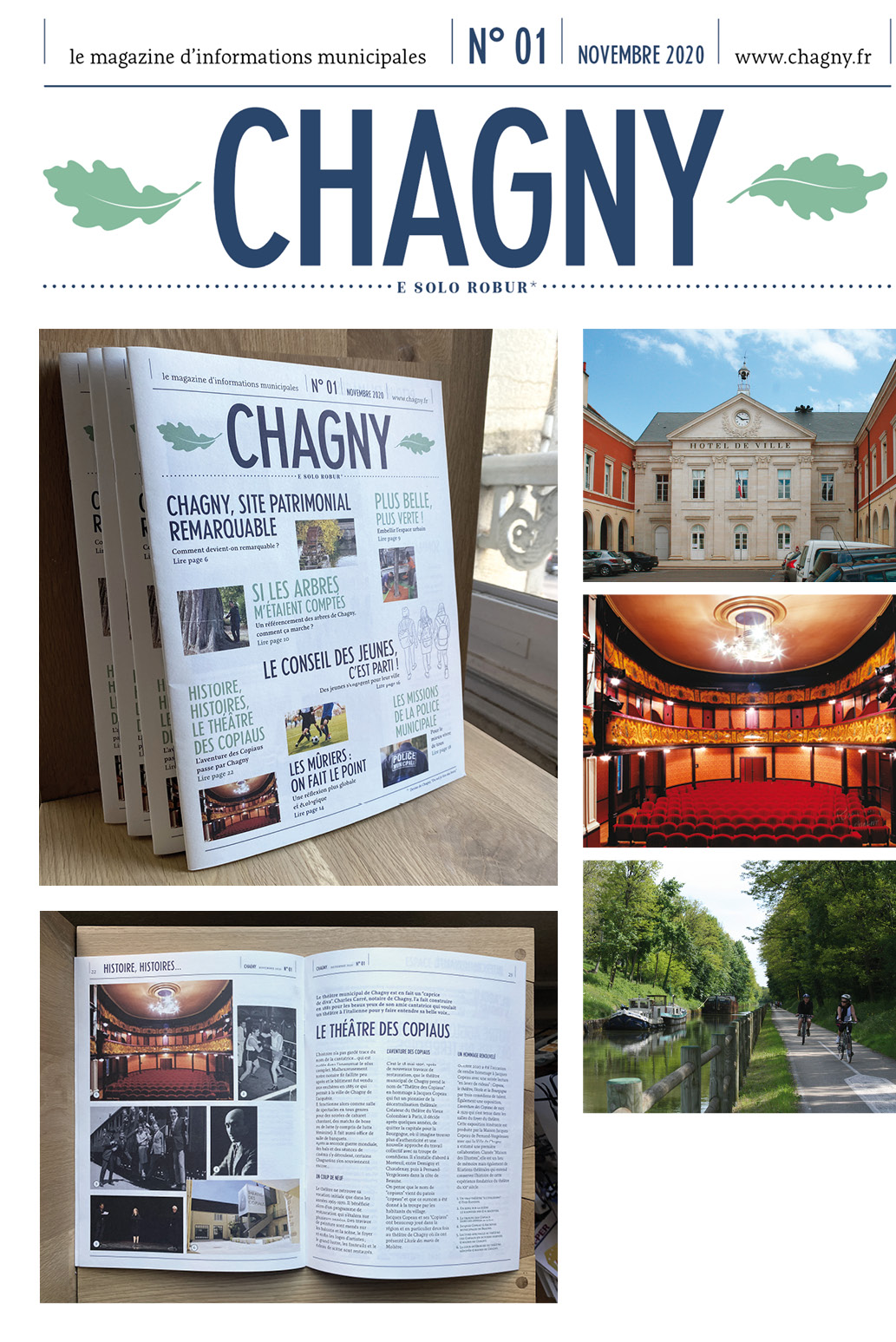 Fiche Chagny Magazine