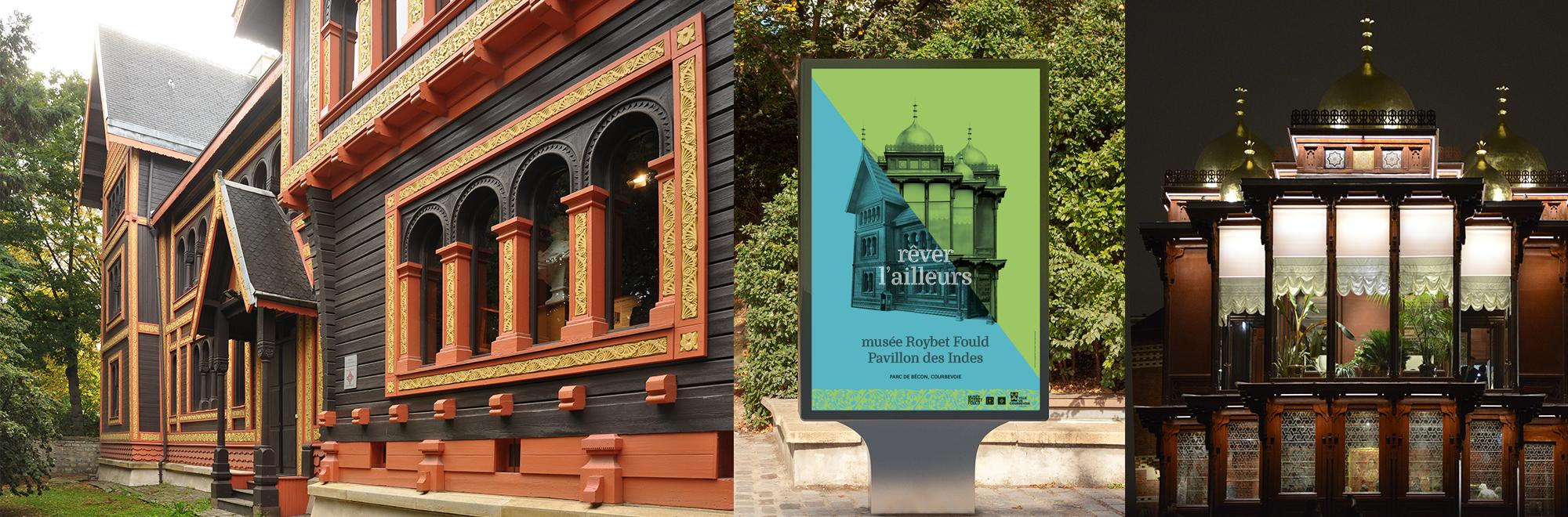 Communication musée Roybet et Pavillon des Indes - visio