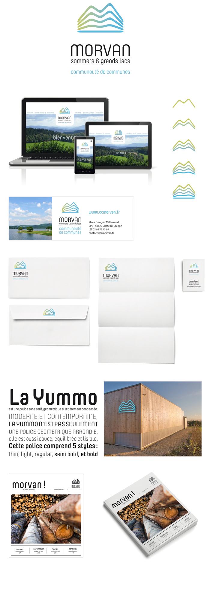 logotype communauté de commune Morvan Sommets et grands lacs
