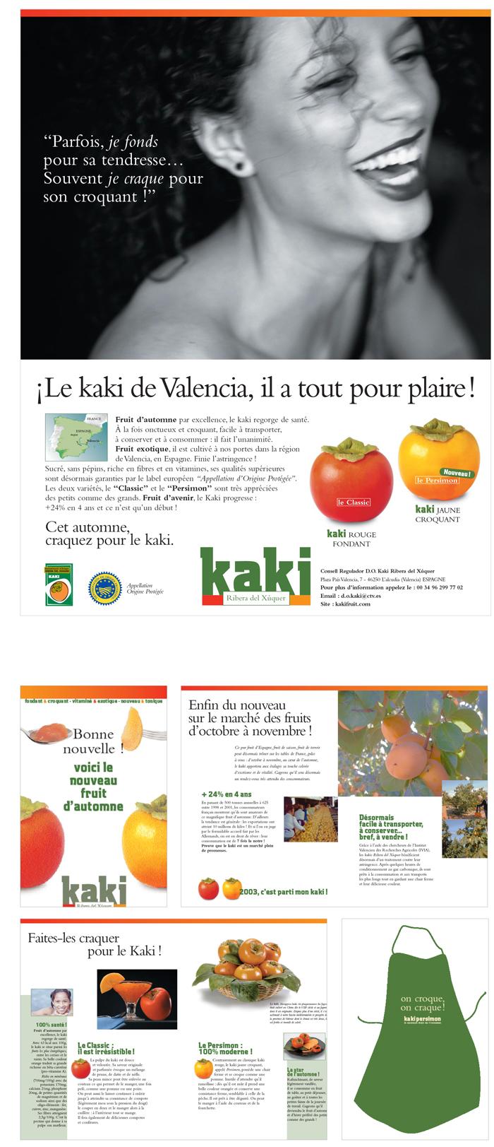 campagne Kaki de Valencia