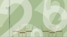 Bar à chiffres logotype vignette